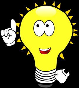 light bulb, idea, enlightenment