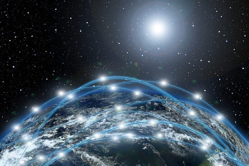 network, astronomy, planet