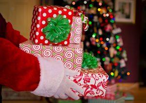 santa claus, santa, gifts